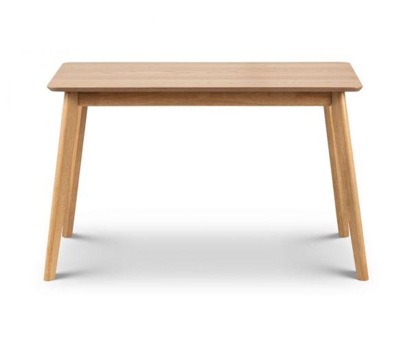 Julian Bowen Boden Oak Dining Table Only