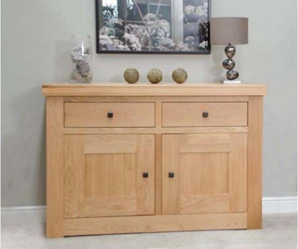 Homestyle GB Bordeaux Oak 2 Door 2 Drawer Sideboard