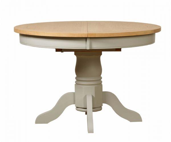Mark Webster Bordeaux Round Extending Pedestal Dining Table