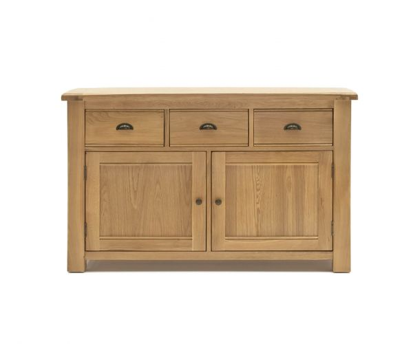 Vida Living Breeze Oak 2 Door 3 Drawer Sideboard