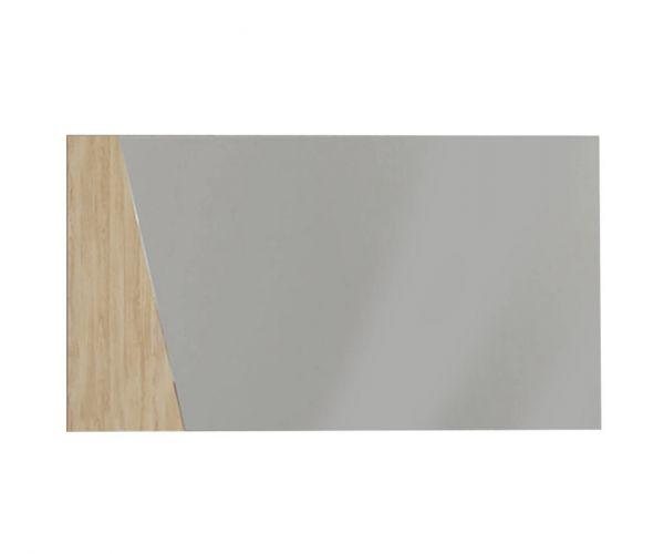 SM Italia Bristol Sand Birch Finish Wall Mirror