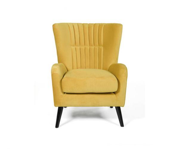 Furniture Line Brook Ochre Fabric Accent Chair
