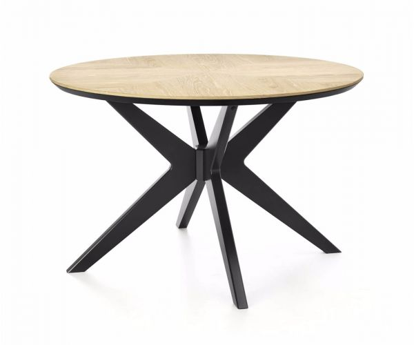 Bentley Designs Brunel Circular Dining Table Only