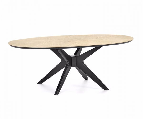 Bentley Designs Brunel Elliptical Coffee Table