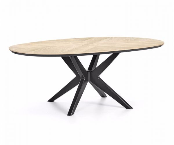 Bentley Designs Brunel Elliptical Dining Table Only