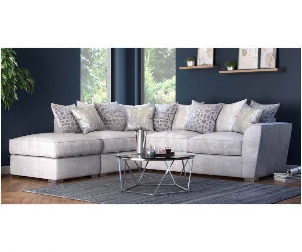 Buoyant Upholstery Wilmslow Pillow Back Corner Chaise Sofa (R2, LFC, P)