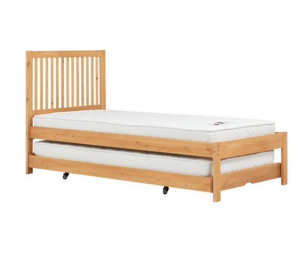 Birlea Furniture Buxton Natural Pine Bed Frame