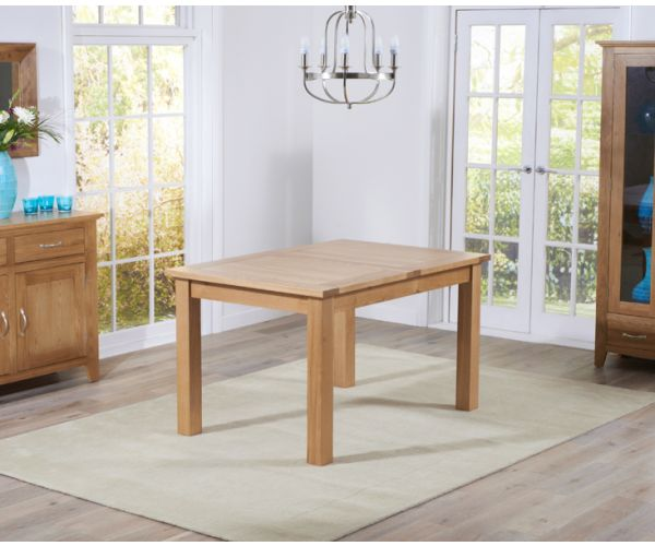Mark Harris Cambridge Large Oak Extending Dining Table Only