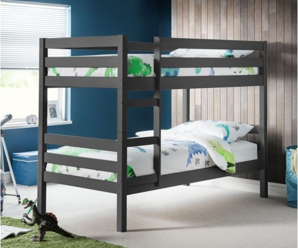 Julian Bowen Camden Anthracite Bunk Bed