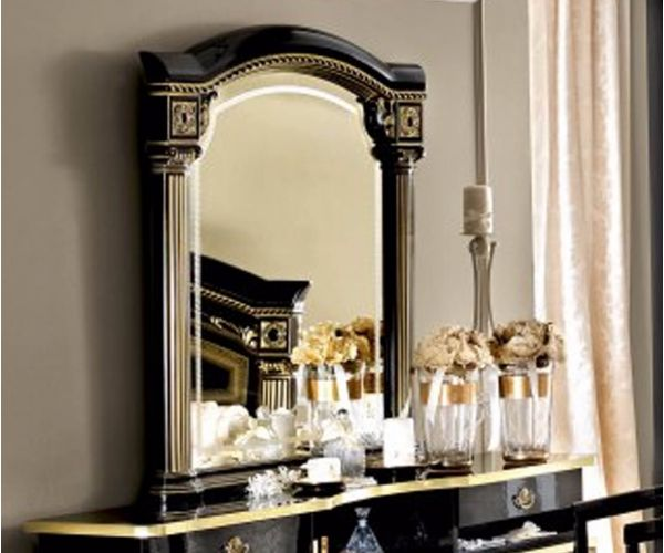 Camel Group Aida Black and Gold Finish Mirror