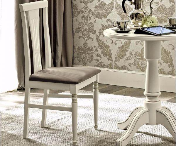 Camel Group Nostalgia Antique White Dining Chair