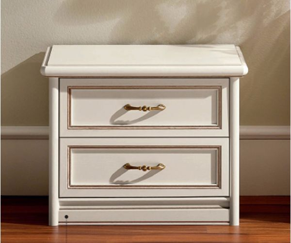 Camel Group Nostalgia Ricordi 2 Drawer Bedside Table