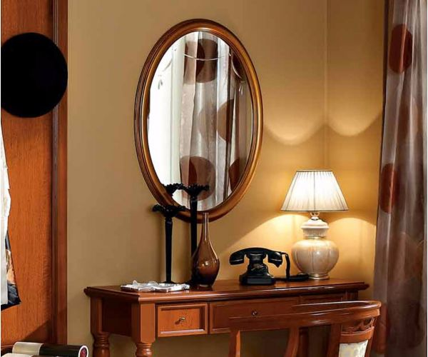 Camel Group Nostalgia Toscana Gold Oval Mirror