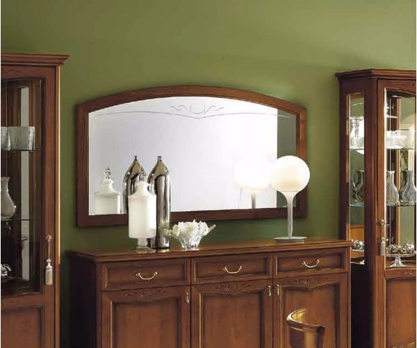 Camel Group Nostalgia Walnut Buffet Mirror