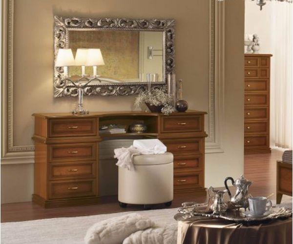 Camel Group Nostalgia Walnut Finish Vanity Dresser