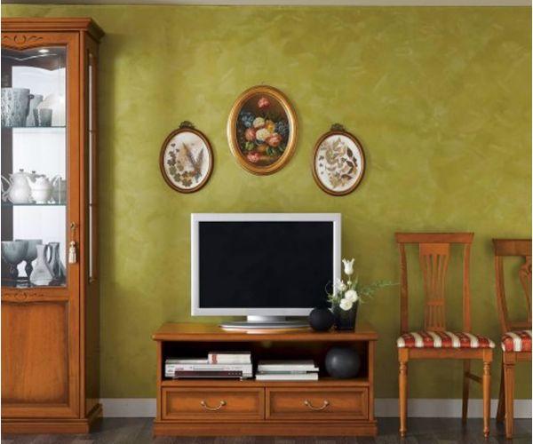 Camel Group Nostalgia Walnut Mini TV Cabinet