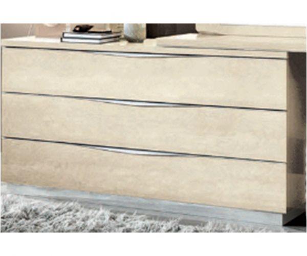 Camel Group Platinum Sand Birch 3 Drawer Single Dresser