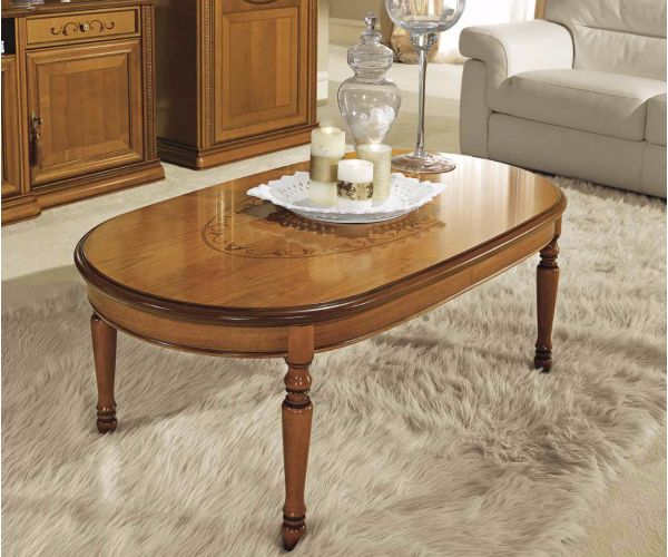 Camel Group Siena Cherry Finish Coffee Table
