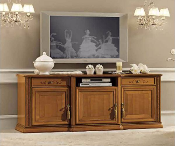 Camel Group Siena Cherry Finish Maxi TV Cabinet