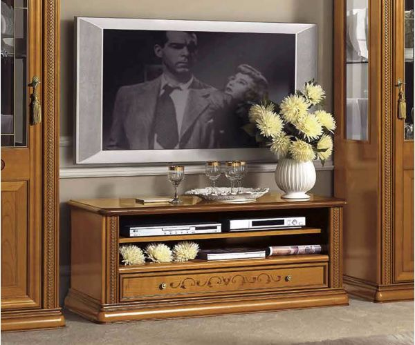 Camel Group Siena Cherry Finish Mini TV Cabinet