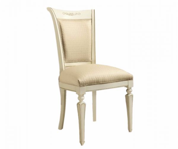 Camel Group Torriani Ivory Finish Dining Chair