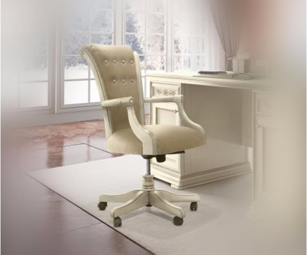 Camel Group Torriani Ivory Finish Office Chair