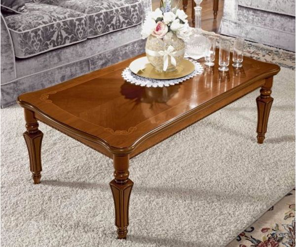 Camel Group Torriani Walnut Finish Coffee Table