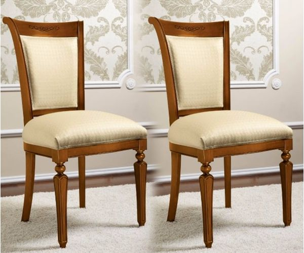 Camel Group Torriani Walnut Finish Dining Chair