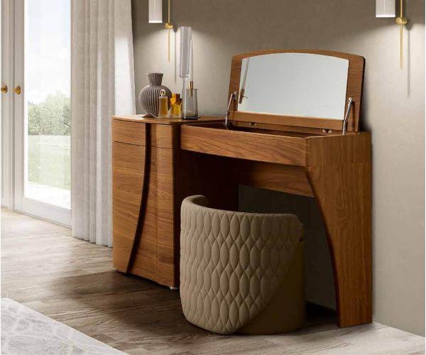 Camel Group Luna Walnut Vanity Dresser