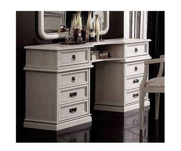Camel Group Nostalgia Antique White Large Vanity Dresser