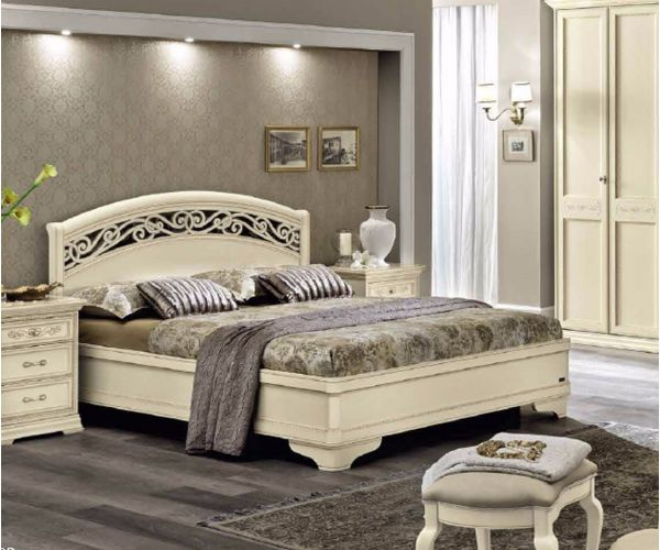 Camel Group Torriani Ivory Finish Botticelli Bed