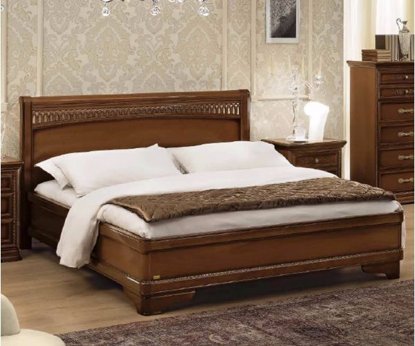 Camel Group Torriani Walnut Finish Tiziano Bed