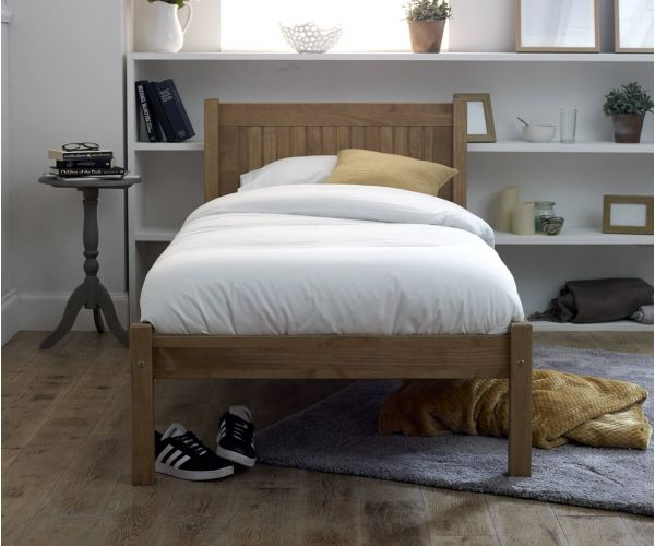 Limelight Capricorn Pine Finish Wooden Bed Frame