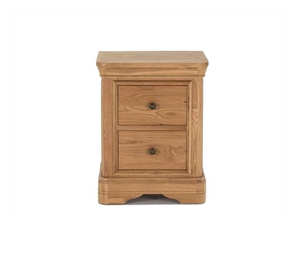 Vida Living Carmen Oak Night Table