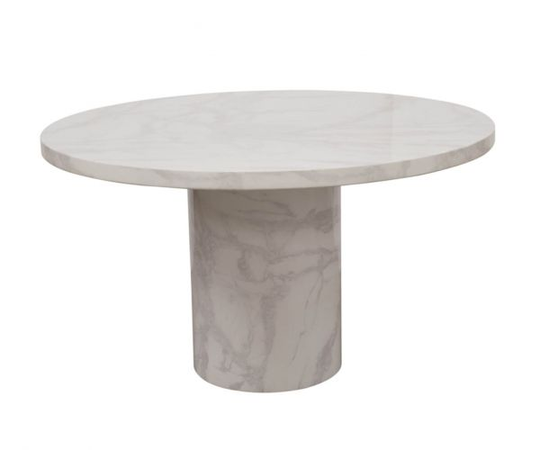 Vida Living Carra Bone White Round Coffee Table