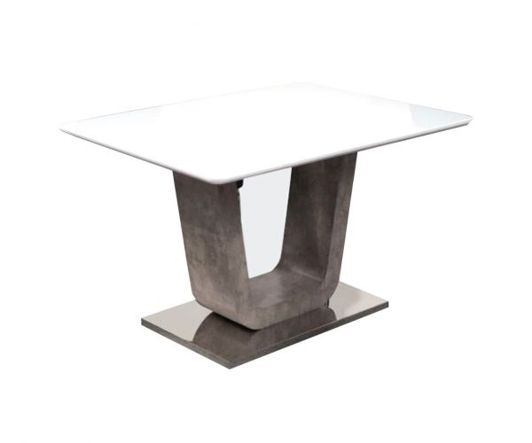 Annaghmore Castello 120cm Fixed Top Dining Table Only
