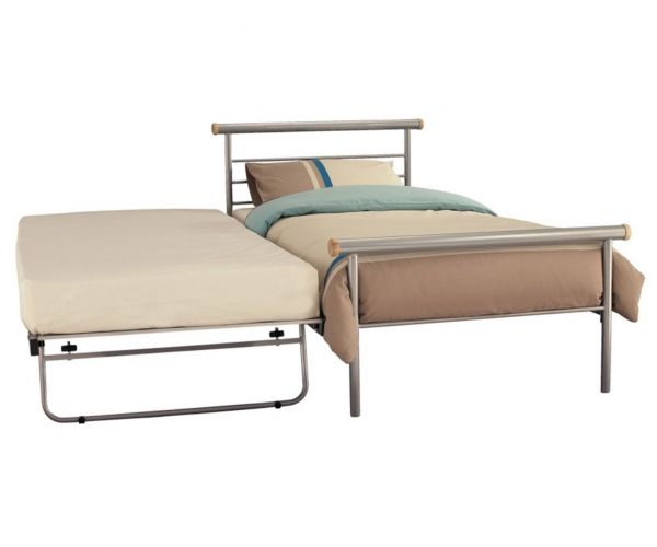 Serene Furnishings Celine Metal Guest Bed
