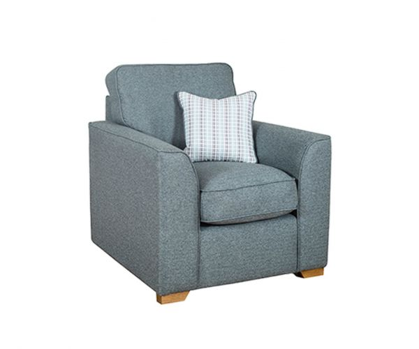 Buoyant Upholstery Louis Fabric Armchair