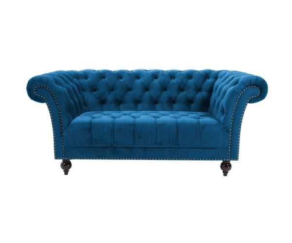 Birlea Furniture Chester Blue 2 seater sofa