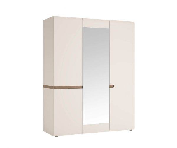 FTG Chelsea 3 Door Wardrobe With Mirror