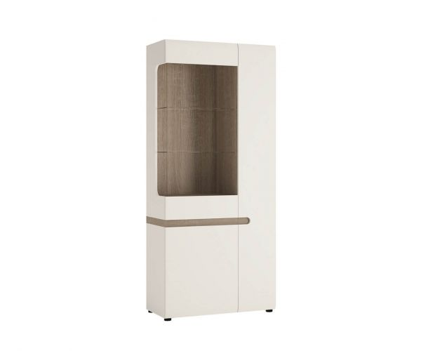 FTG Chelsea Tall Glazed Wide Display Unit