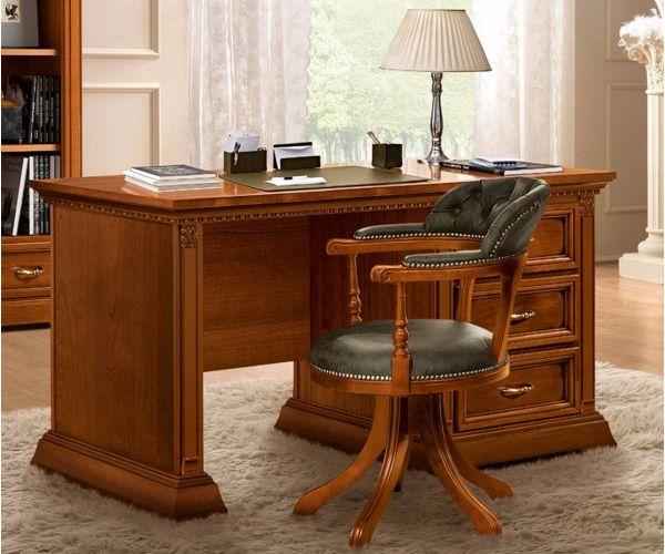Camel Group Treviso Cherry Finish Writing Desk