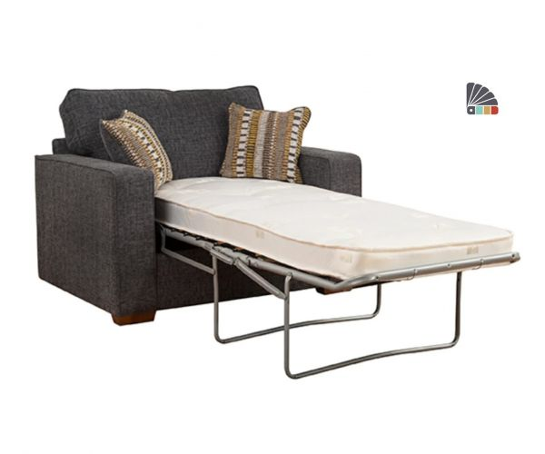 Buoyant Upholstery Chicago Chair Sofa Bed 80cm with Standard Mattress