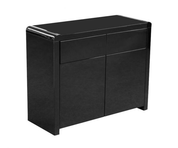 Annaghmore Clarus Black 2 Door Sideboard