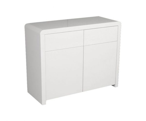 Annaghmore Clarus White 2 Door 2 Drawer Sideboard