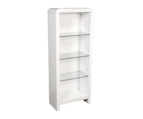 Annaghmore Clarus White Bookcase