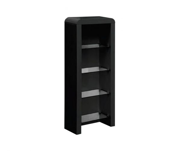 Annaghmore Clarus Black DVD Storage Unit