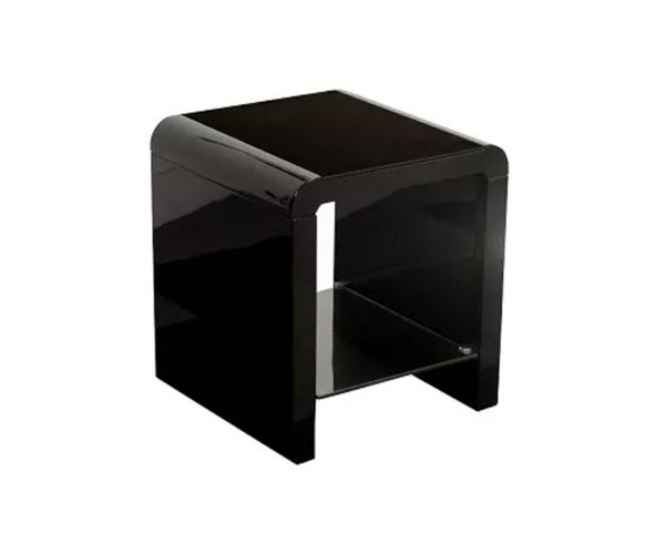 Annaghmore Clarus Black End Table