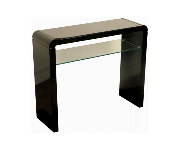 Annaghmore Clarus Black Medium Console Table