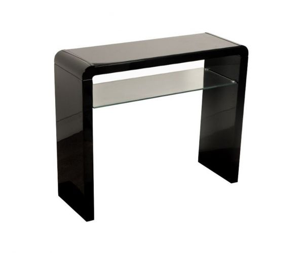 Annaghmore Clarus Black Small Console Table